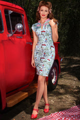The Lucky Country Wiggle Dress