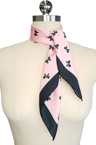 D'Amour Bow Scarf (Pink)
