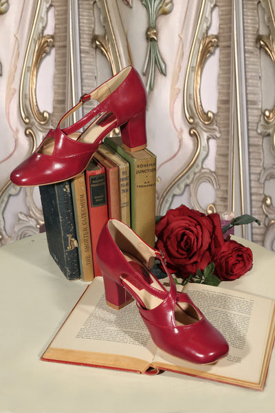 Casablanca Shoe (Red)