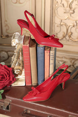 High Society Shoe (Red)