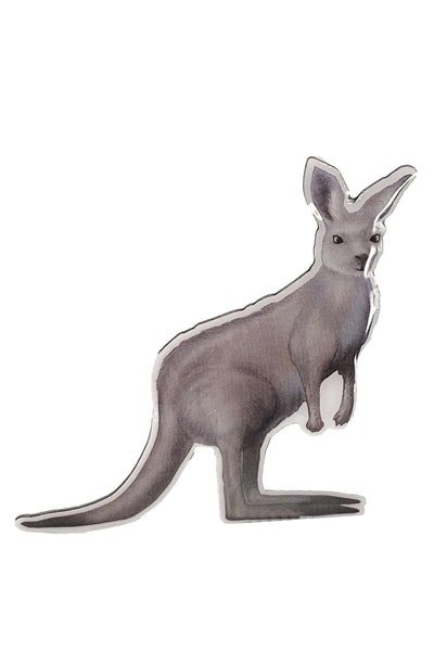 The Lucky Country Kangaroo Brooch