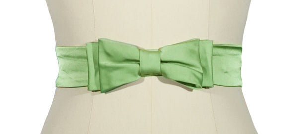 D'Amour Petite Bow Belt (Green)