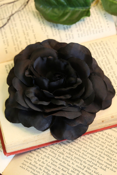 Ring a Ring a Rosey Flower (Black)