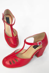 Gatsby Shoe (Red)