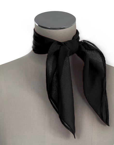 D'Amour Black Scarf