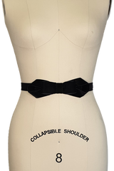 La Petite Boutique Bow Belt (Black)