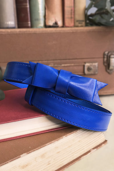 Charm School Belt (Blue)
