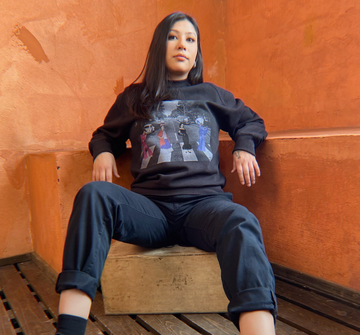 Calle Abbey Faded Unisex Pullover