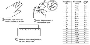 Tips how to measure your finger size