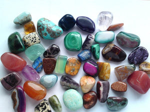 What are the semi-precious stones?