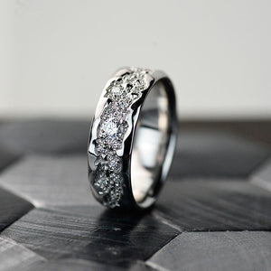 Grand Canyon Moissanite Men's Ring