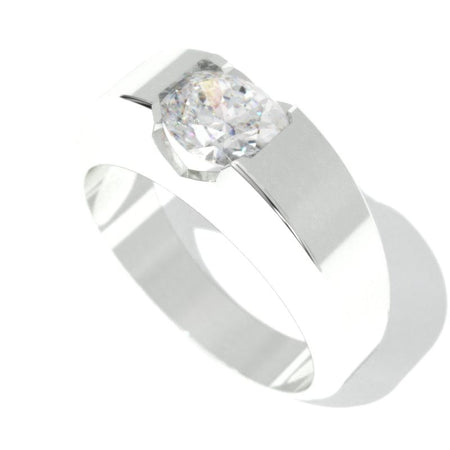 2 Carat Giliarto  Moissanite Men's  Gold  Ring.