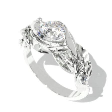 1 Carat Giliarto Moissanite White Gold Promissory Ring