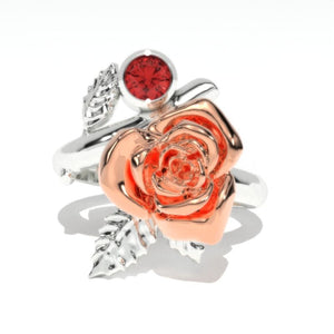 Giliarto Ruby Rose Gold Promissory Ring