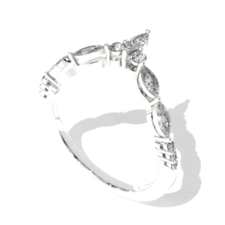 Moissanite Stackable Ring