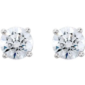 1 CTW  Diamond Stud Earrings - Giliarto