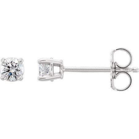 0.3 CTW  Diamond Stud Earrings - Giliarto, custom earrings