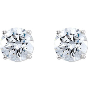 2 CTW  Stud Earrings - Giliarto