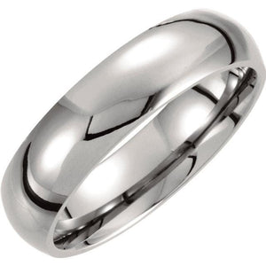 Titanium Polished Band - Giliarto