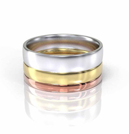 Celtic 14K  Gold Wedding  Ring For Her and Him.