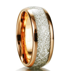 Rose Golg Tungsten Carbide Ring - Giliarto