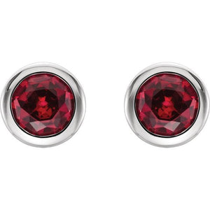 Ruby Earrings - Giliarto