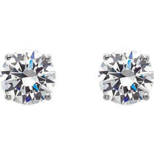 1.25 CTW  Diamond Stud Earrings - Giliarto