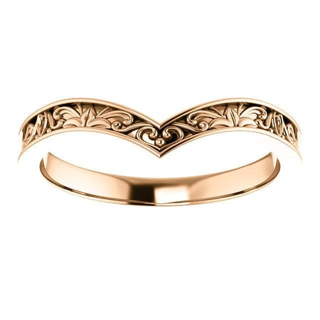 V-ring rose gold - Giliarto