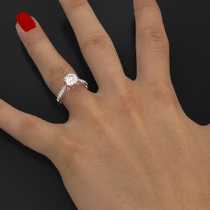 Andromeda Moissanite  Ring