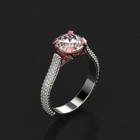 Orion Moissanite  Ring - Giliarto