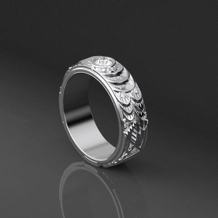 Diamond Men's Ring - Giliarto desktop