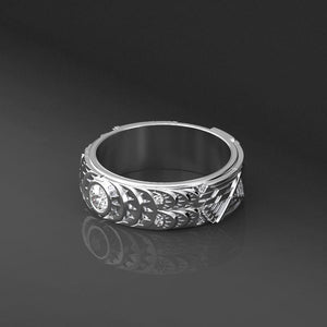 Diamond Men's Ring - Giliarto mobile