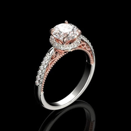 Adara Moissanite Ring - Giliarto