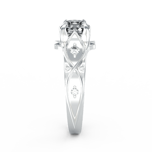1.0 Carat Diamond Engagement Ring - Giliarto