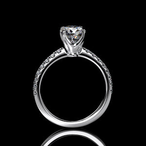 Eleanore 1.3 Carat Forever One Moissanite Engagement Ring