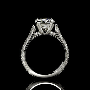 Orion 2.6 Carat Forever One  Moissanite Engagement Ring