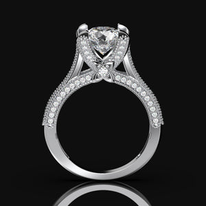 Nara 2.3 Carat Forever One Moissanite Engagement Ring