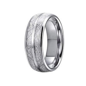 Meteorite Tungsten Carbide Rings