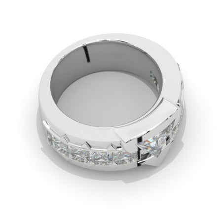 Giliarto  Moissanite Men's  Gold  Ring.