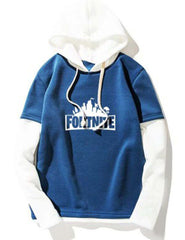 Blue White Fortnite Hoodie