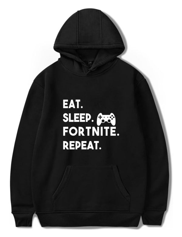 Eat Sleep Fortnite Repeat Hoodie