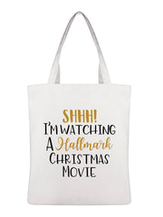 SHHH! I'm Watching Hallmark Movie Shoulder Bag -657