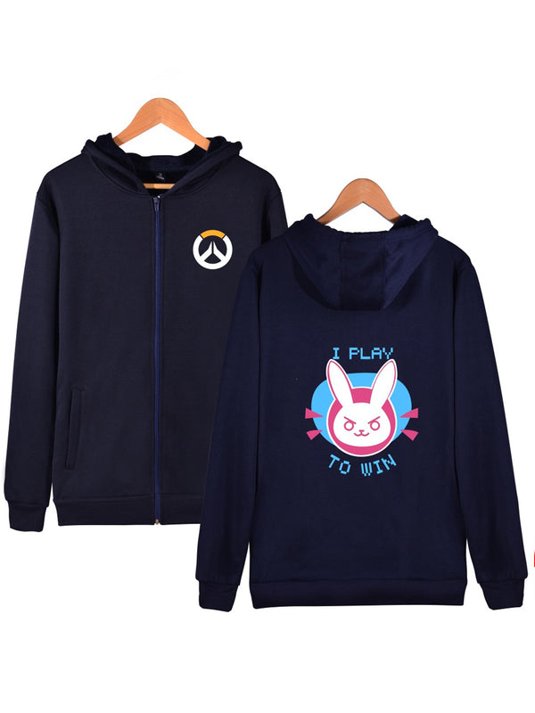 Overwatch I Play To Win Hoodie
