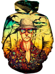 3D Man With Hat Hoodie