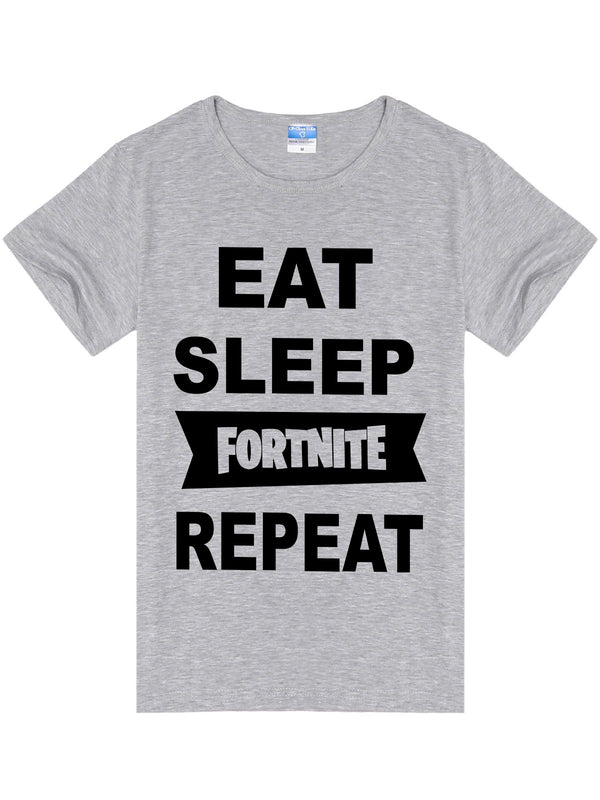 Eat Sleep Fortnite Repeat T-Shirt -727