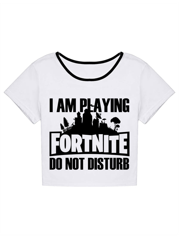 I'm Playing Fortnite T-Shirt -717