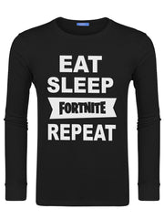 Men's Eat Sleep Fortnite Repeat Swearshirts -728