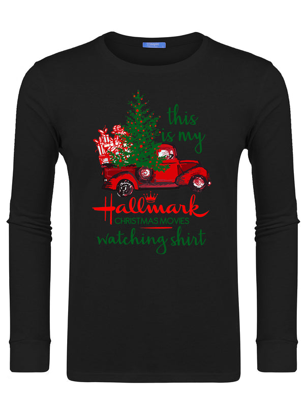 Men's Hallmark Movie Watching Swearshirts -637