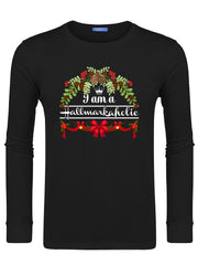 Men's I Am A Hallmarkaholic Swearshirts -648