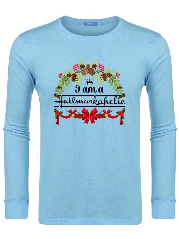 Men's I Am A Hallmarkaholic Swearshirts -647